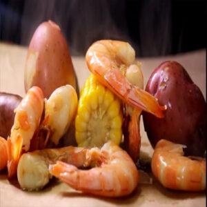 Shrimp Boil Steamed Tail